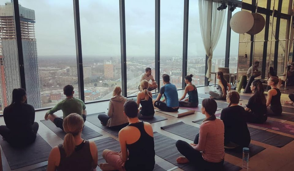 A Deansgate Hotel Is Holding Early Morning Yoga Sessions Above The Clouds