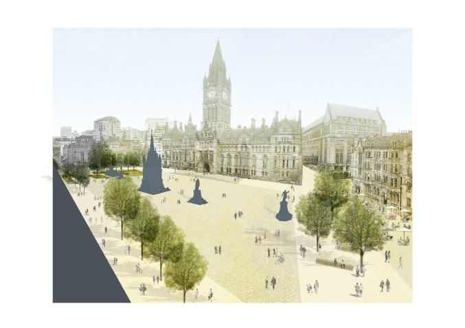 A First Look At Manchester's New Albert Square