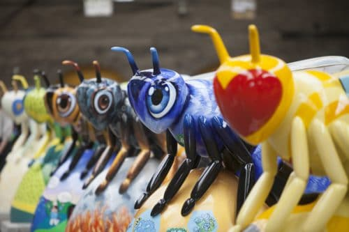 More Than 100 Bee Sculptures Have Landed In Manchester