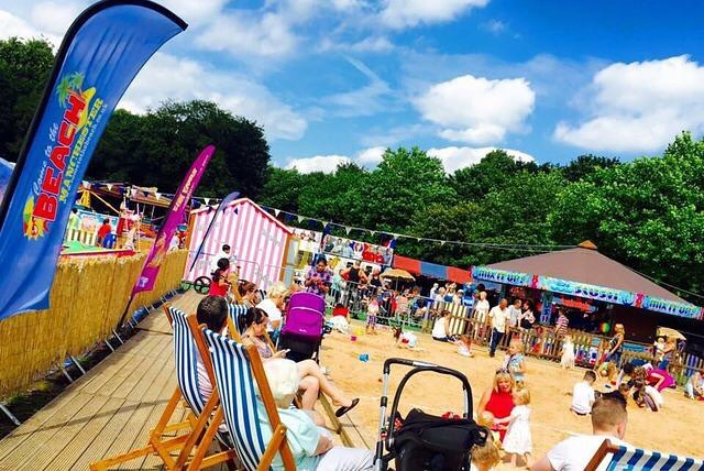 Heaton Park Will Be Transformed Into A Giant Beach