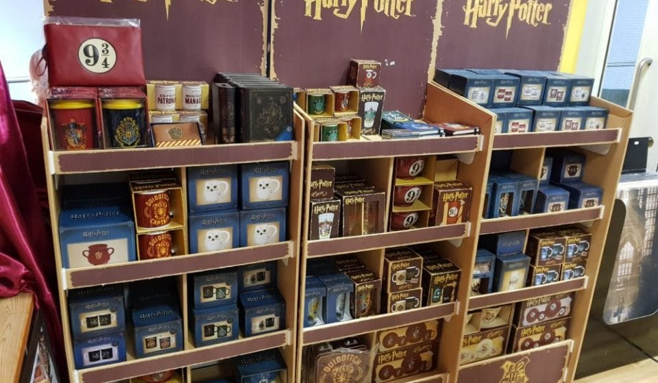 Inside The Arndale's Harry Potter Shop
