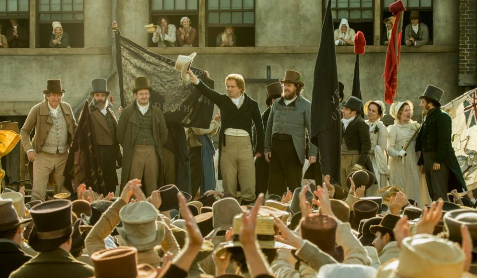 The UK Premier Of London Festival Film Peterloo Will Take Place In Manchester