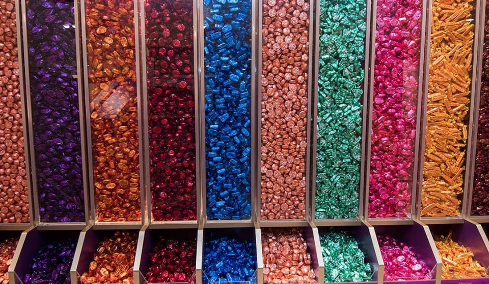 A Quality Street Pick And Mix Stall Has Opened In The Trafford Centre