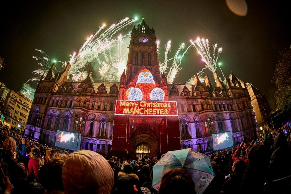The Line-Up For Manchester Christmas Lights Switch On Has Been Announced