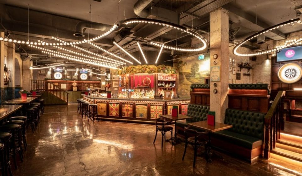 Inside Manchester's Fairground-Inspired Darts Bar