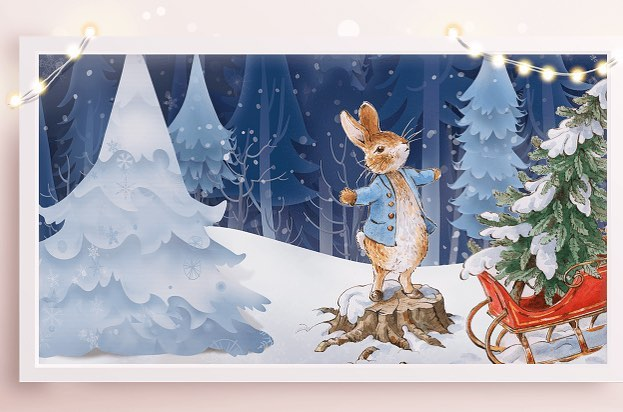 The Trafford Centre Has Been Transformed Into A Magical Peter Rabbit Christmas Grotto