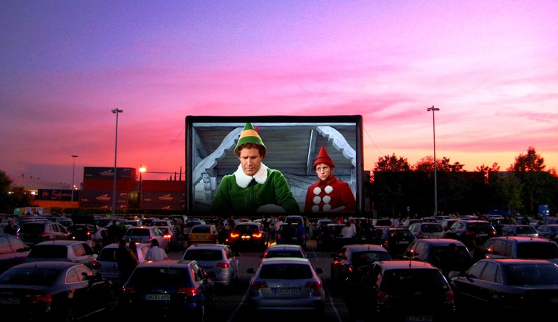 A Massive Christmas Drive-In Cinema Is Coming To Manchester