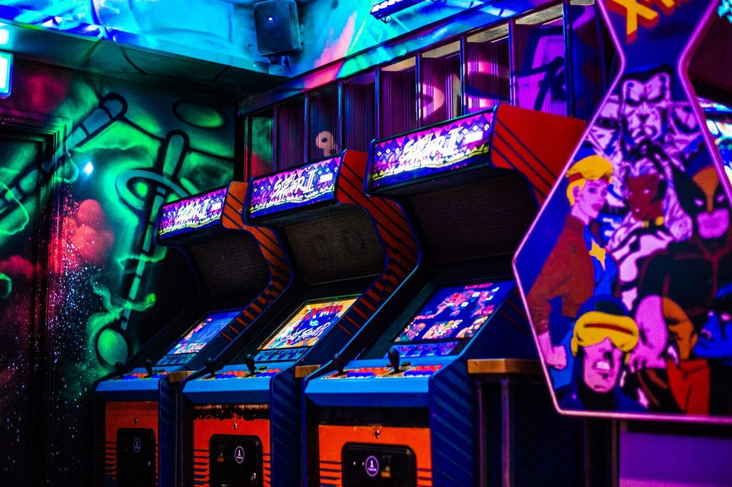 Inside NQ64 - Northern Quarter's New Retro Arcade Bar