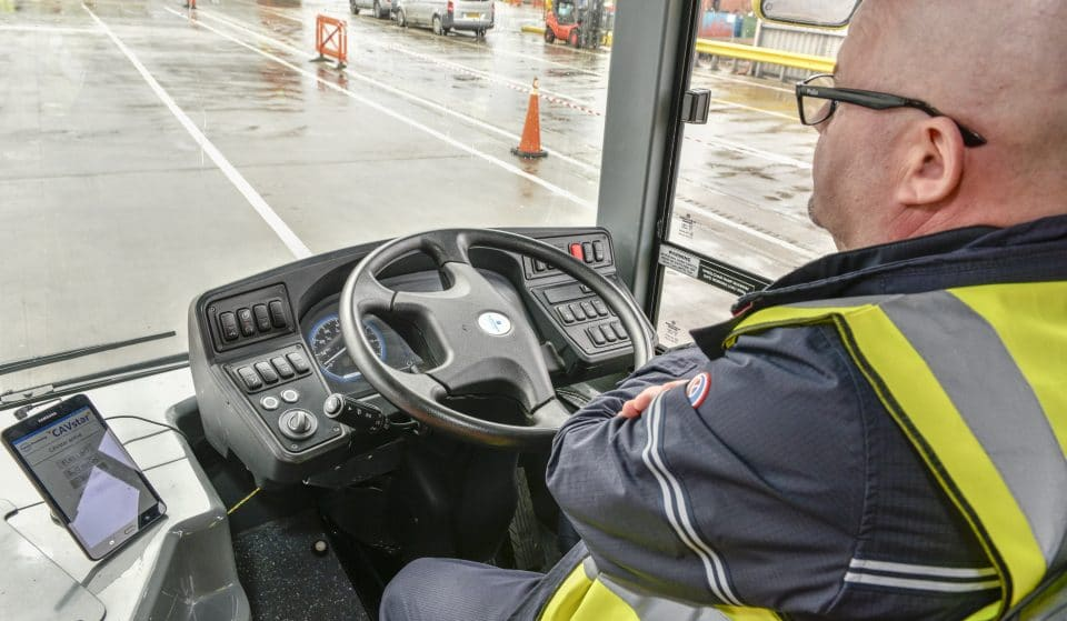 The UK's First Driverless Bus Is Being Trialed In Manchester