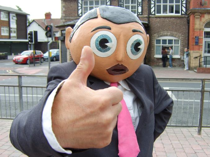 A Frank Sidebottom Exhibition Has Launched At Manchester Central Library