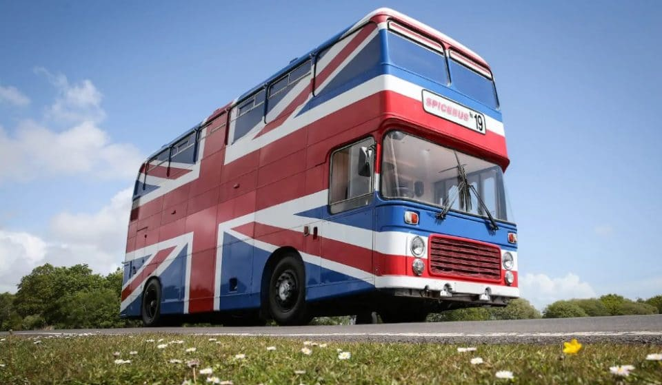 The Original Spice Bus From The Spice World Movie Is Now On Airbnb