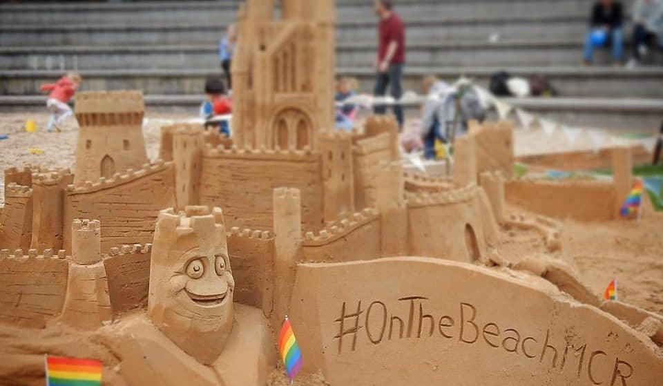 A Massive Sandpit Complete With Giant Deck Chair Is Coming To Manchester