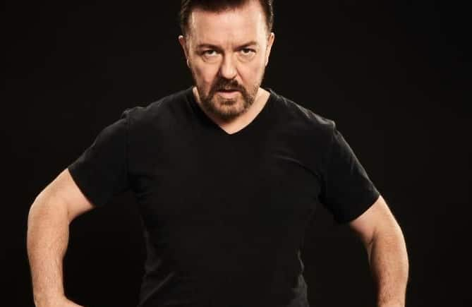 Ricky Gervais Has Announced A Last Minute Show In Manchester This Month