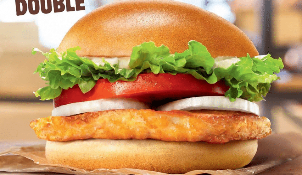 Burger King Has Launched A Halloumi Burger In The UK