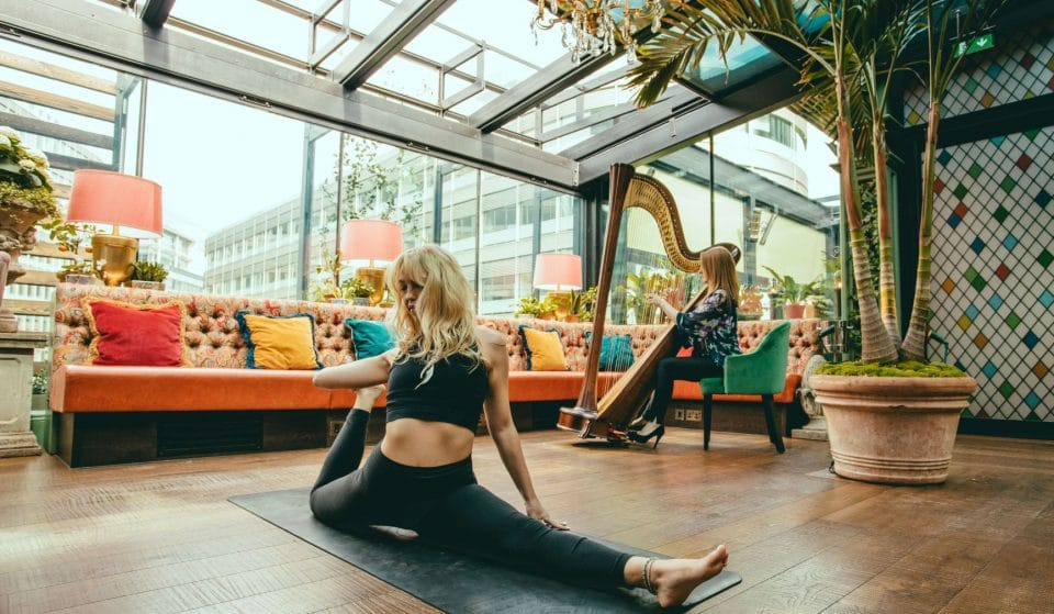 The Ivy Will Host Yoga And Breakfast Sessions In Its Gorgeous Roof Garden