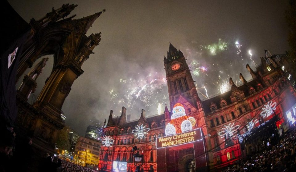 Manchester Christmas Lights Switch-On Will Take Place In A New Location This Year