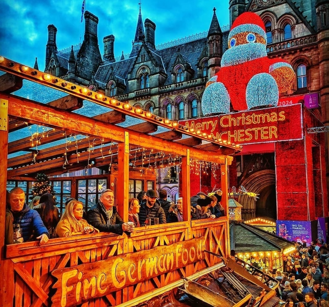 Manchester Christmas Markets Will Expand To Piccadilly Gardens This Year