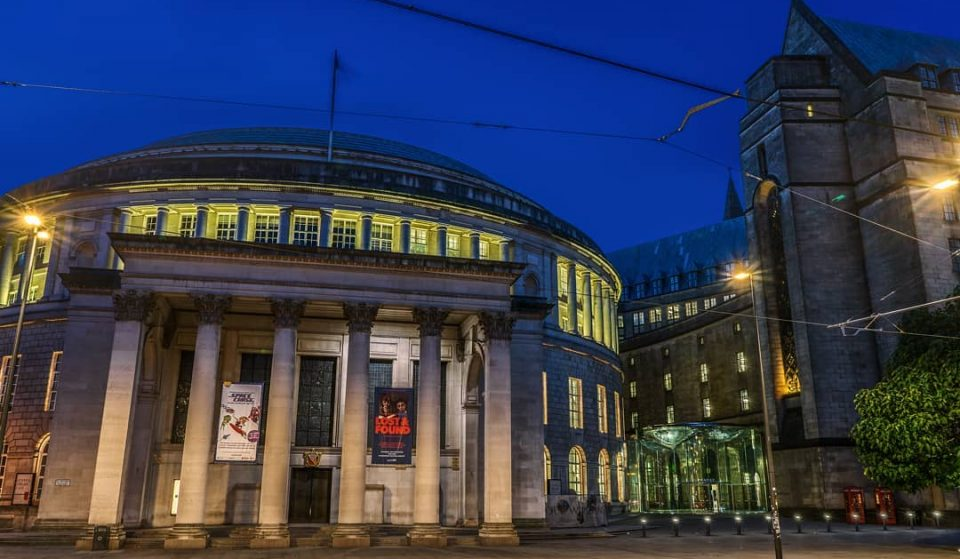 Explore Manchester Central Library At Night With An Immersive Show Inspired By Orwell's 1984