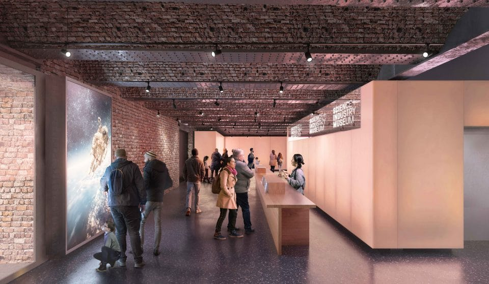 Work Has Begun On The New Gallery Space At Manchester Science And Industry Museum