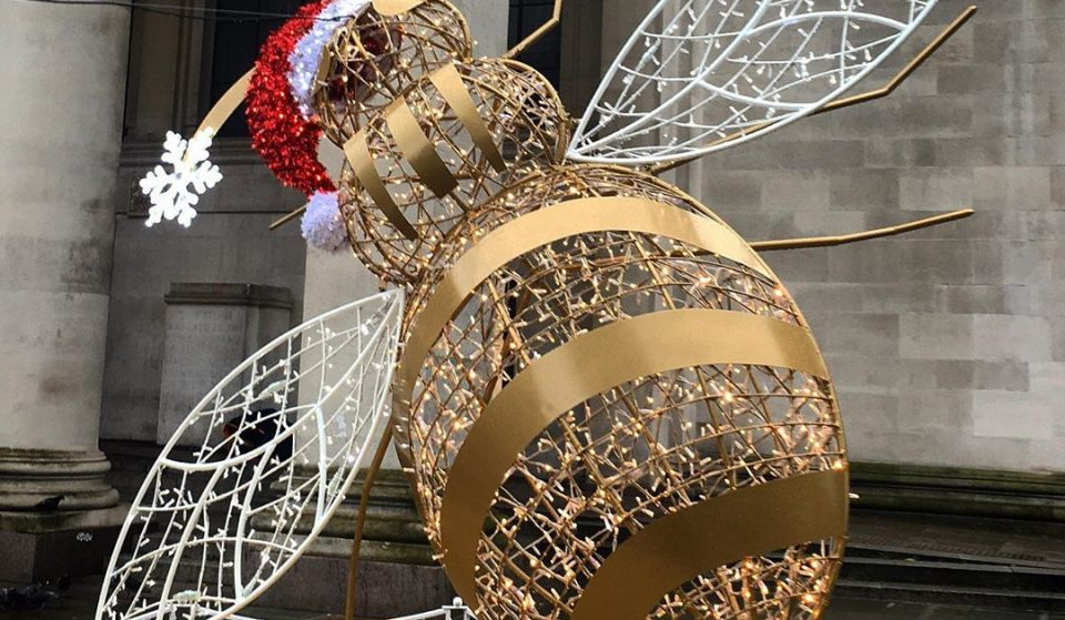 Discover The Trail Of Festive Light Sculptures In Manchester This Christmas