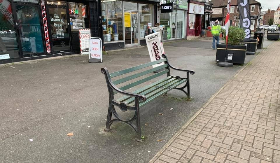 A 'Happy To Chat' Bench Is Coming To Altrincham