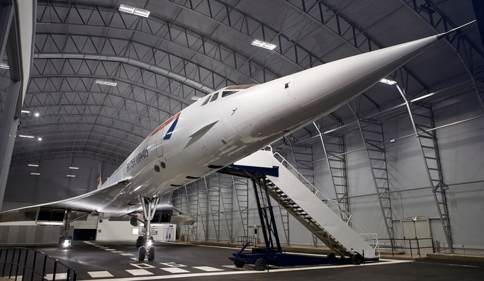 You Can Now Party Under One Of The Last Remaining Concorde Planes