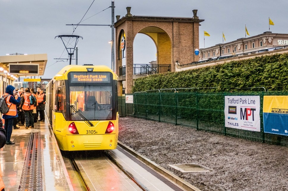 The Trafford Centre Tram Line Officially Launches This Month
