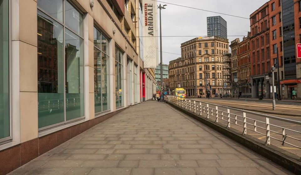 10 Photos Of Manchester Looking Eerily Empty During Lockdown