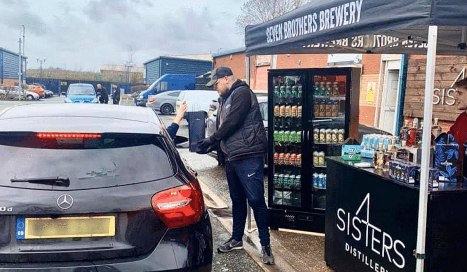 A Gin And Beer Drive-Thru Has Popped Up In Salford