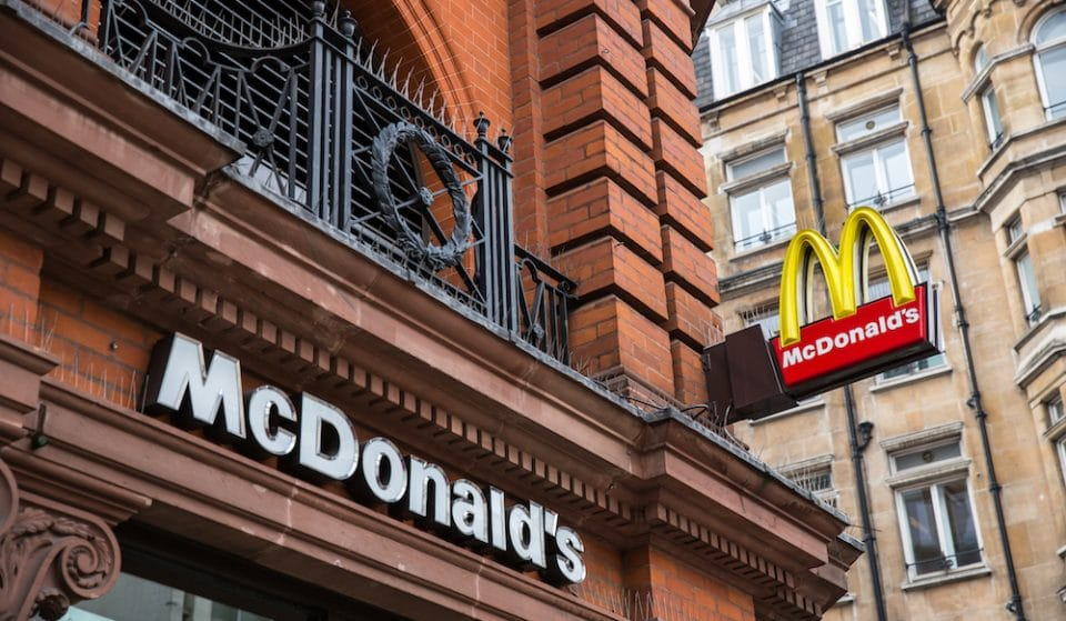 McDonald's Will Re-Open In Manchester By 'Early June'