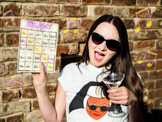 This Fabulous Disco Bingo Night Is The Grooviest Route To A Full House