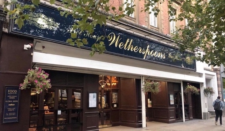 Pub chain giant Wetherspoons announces plans for COVID-19 changes