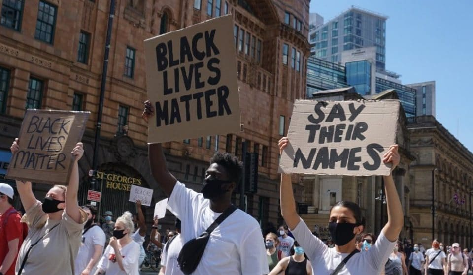 Incredible Images As Mancs Turn Out For The #BlackLivesMatter Movement