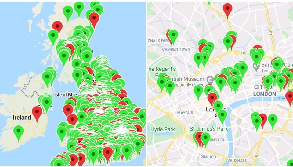'Neverspoons' Is The Handy Map That Will Show You Independent Pubs Close To Wetherspoons