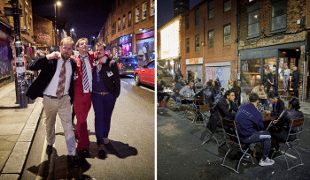 Photographer Reveals Strange Before And After Images Of Manchester Transforming Amid The Pandemic